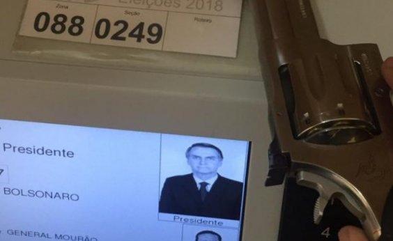 [Eleitor que votou com arma é identificado pela Polícia Federal]