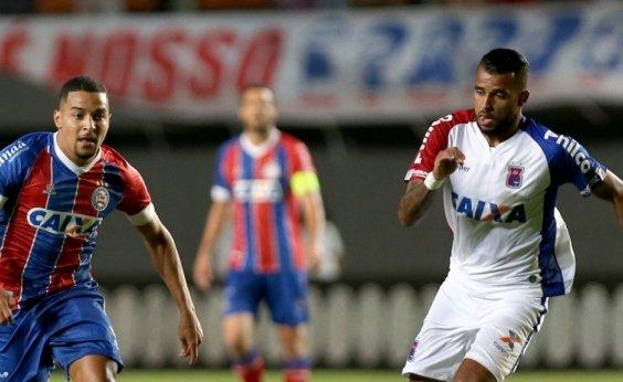 [Com Pituaçu lotado, Bahia vence o Paraná por 2 a 0]