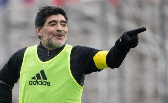[Maradona diz que Messi não é líder em campo]
