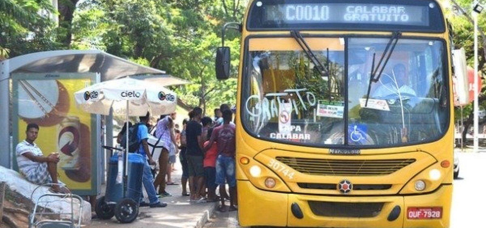 [Ônibus deixam de circular no Parque das Bromélias]