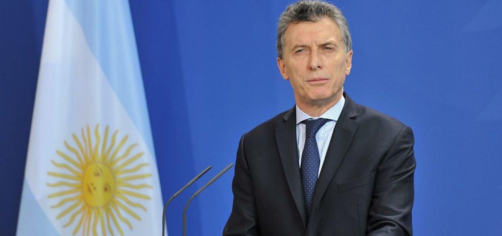 [Pesquisas indicam que Macri perdeu até 20% de aprovação na Argentina]