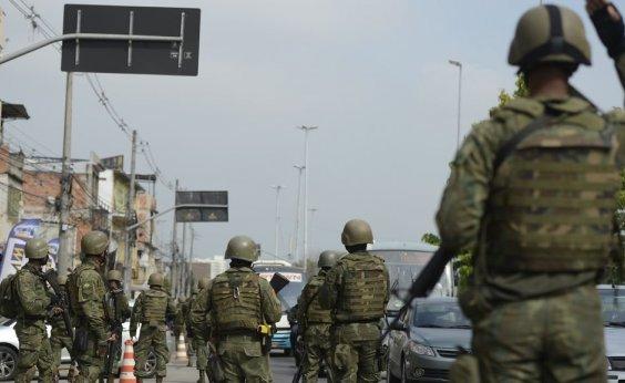 [Forças Armadas e Polícia Federal fazem operação no RJ]