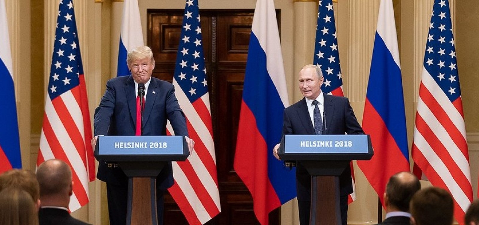 [Putin 'provavelmente' está envolvido com assassinatos e envenenamentos, diz Trump]