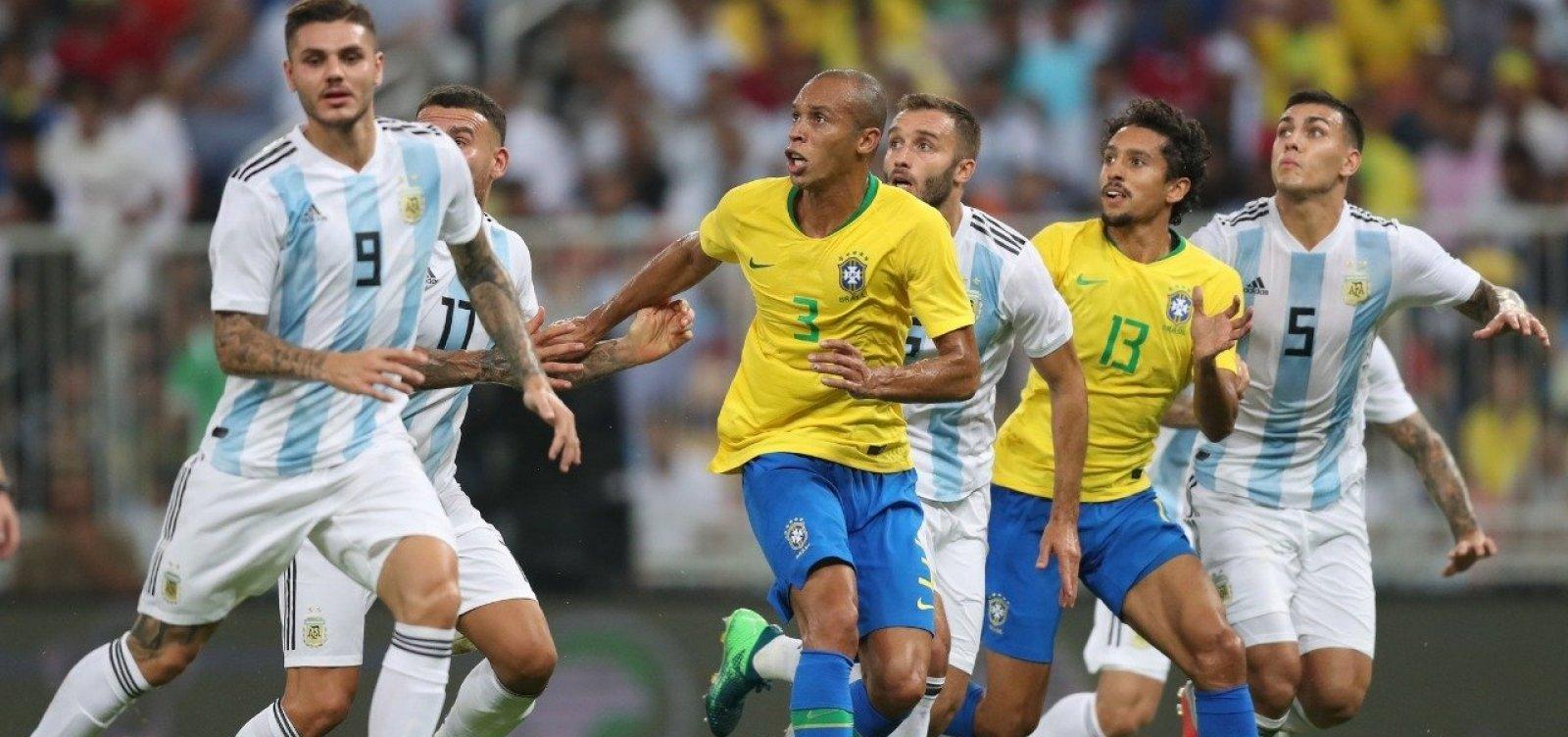 [Brasil vence Argentina com gol nos acréscimos do segundo tempo]