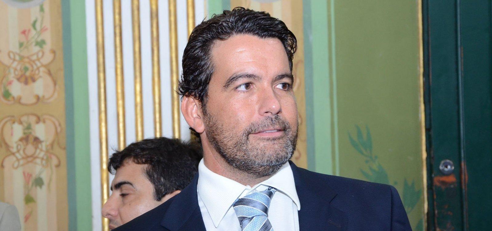 [Paulo Magalhães Jr. declara apoio a Geraldo Júnior para presidência da Câmara]