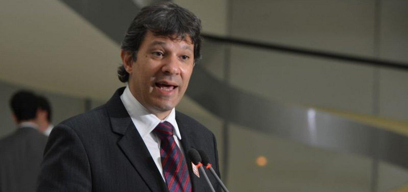 [Haddad diz que Cid Gomes deve declarar apoio explícito até dia 28]