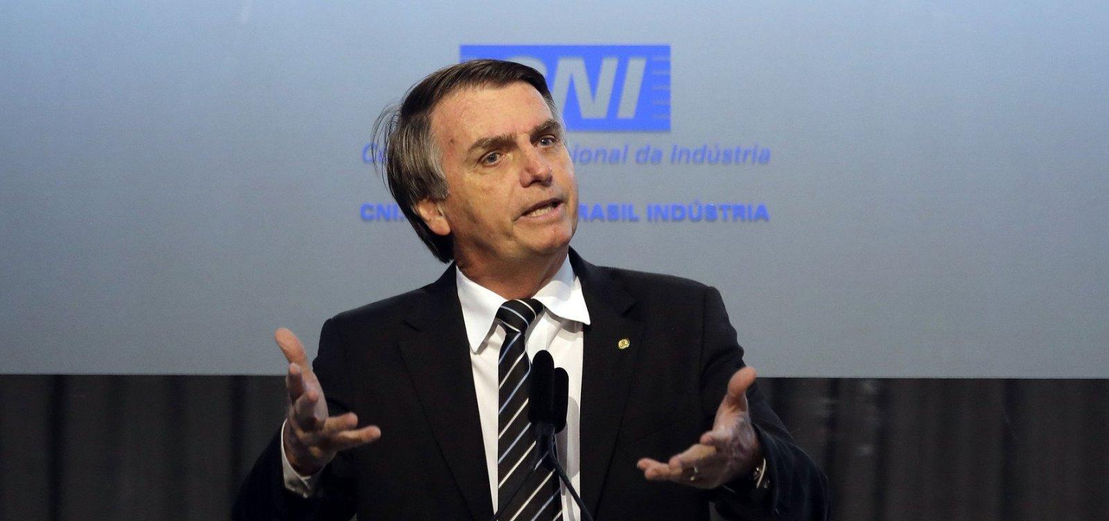 [Bolsonaro não assegura indicar um dos nomes da lista tríplice da PGR]
