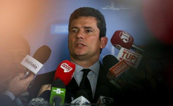 [Moro nega influência nas eleições ao divulgar delação de Palocci]
