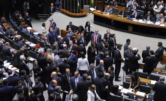 [Votações na Câmara dos Deputados só serão retomadas depois do 2º turno]
