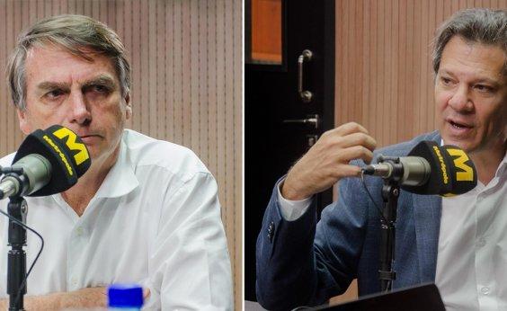 [Datafolha: Bolsonaro lidera com 59%, Haddad tem 41%]