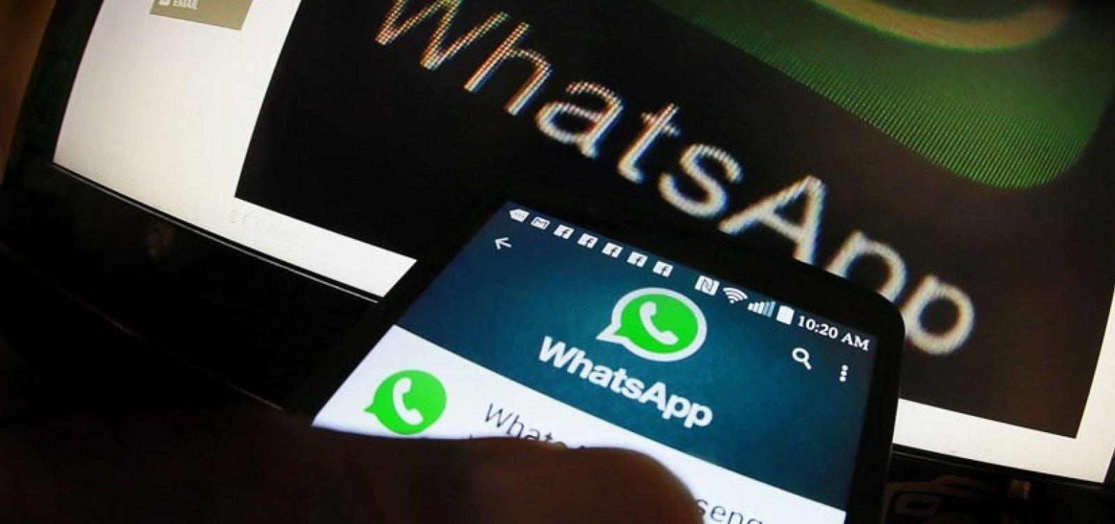 [WhatsApp vai investigar disparo de mensagens contra o PT]
