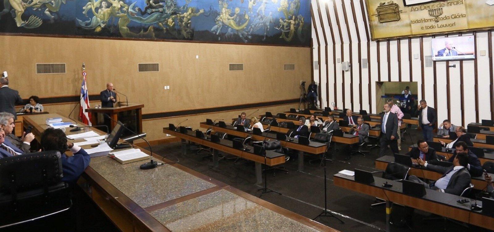[Oposição quer votar unida na disputa pela presidência da AL-BA ]