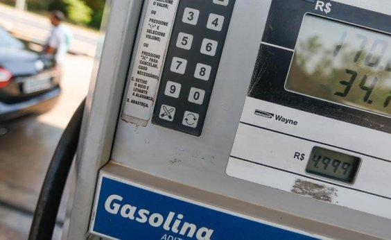 [Preço da gasolina cai 2% nas refinarias a partir de amanhã]