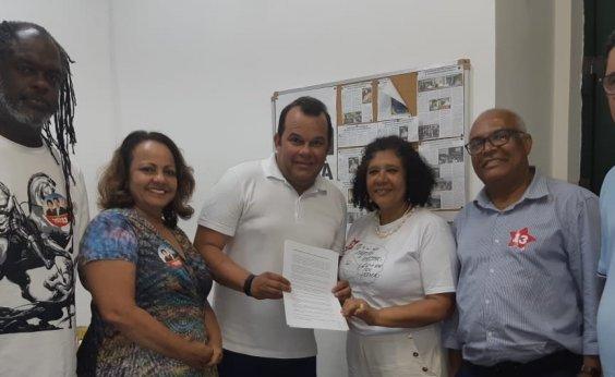 [Presidência da CMS: PT, PCdoB e PSB declaram apoio a Geraldo Júnior]