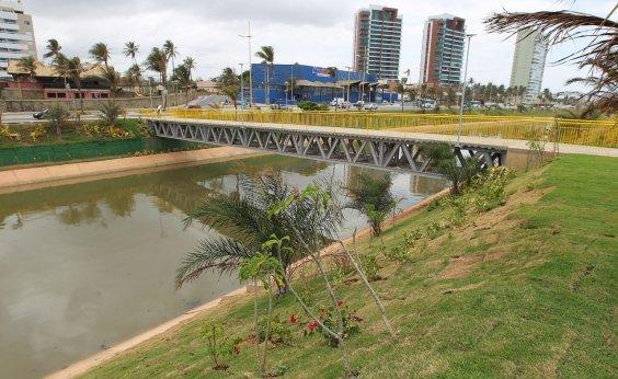 [Governo conclui obras de urbanização ao lado do Rio Jaguaribe]