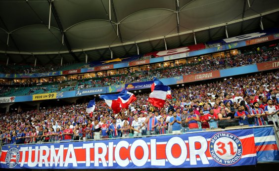 [Jogo do Bahia contra o Atlético-PR já tem 16 mil ingressos garantidos]