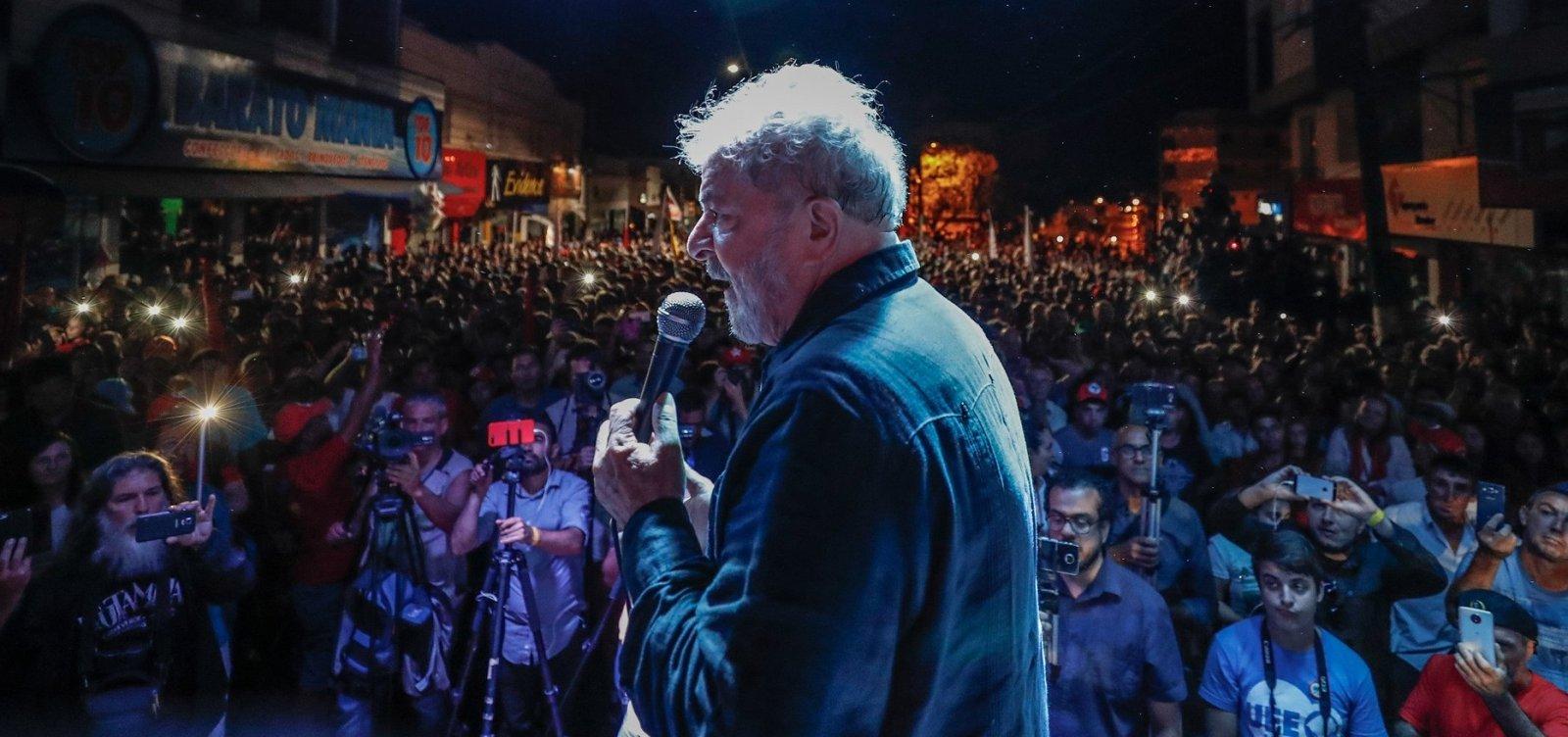 [PGR diz ao STF que Lula não pode conceder entrevistas na prisão]