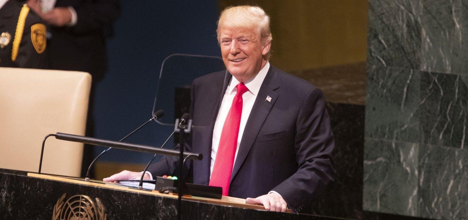 [Trump diz que EUA vão abandonar tratado nuclear com a Rússia]