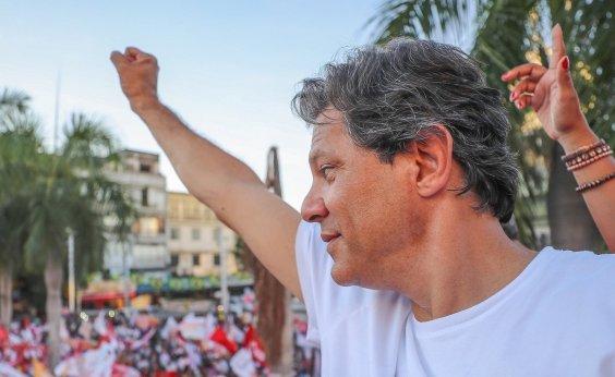[No Maranhão, Haddad promete aumentar em 20% o Bolsa Família]