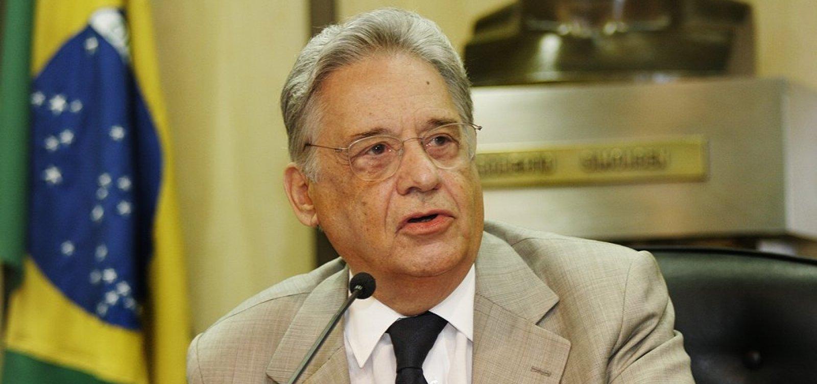 Fernando Henrique repudia fala do filho de Bolsonaro sobre STF   Cheira a  fascismo 11c473c764732