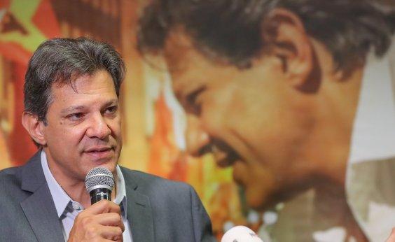 [Haddad condena vídeo em que filho de Bolsonaro ataca STF: 'Esse pessoal é uma milícia']