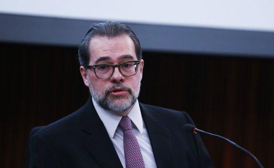 ['Atacar o Poder Judiciário é atacar a democracia', diz Dias Toffoli]