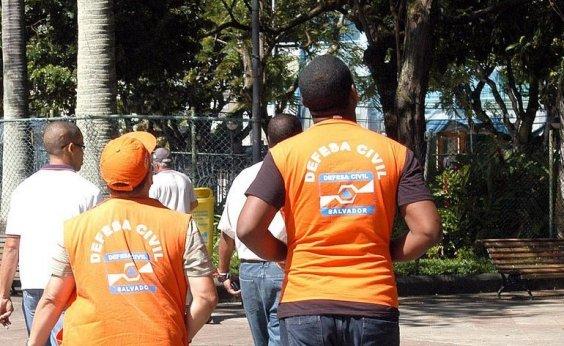 [Defesa Civil registra 65 solicitações ligadas à chuva em Salvador]