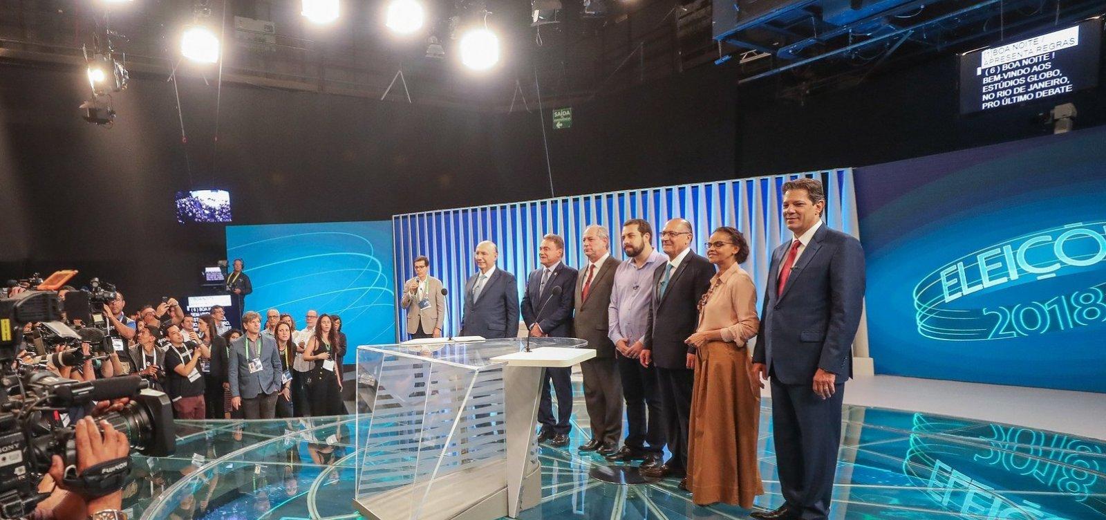 [Globo cancela debate após Bolsonaro rejeitar convite]