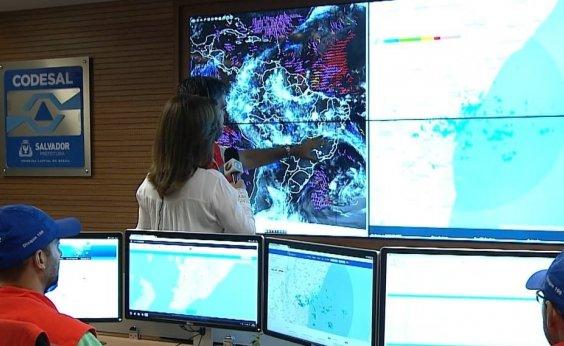 [Defesa Civil registra dois deslizamentos de terra em Salvador após chuva]