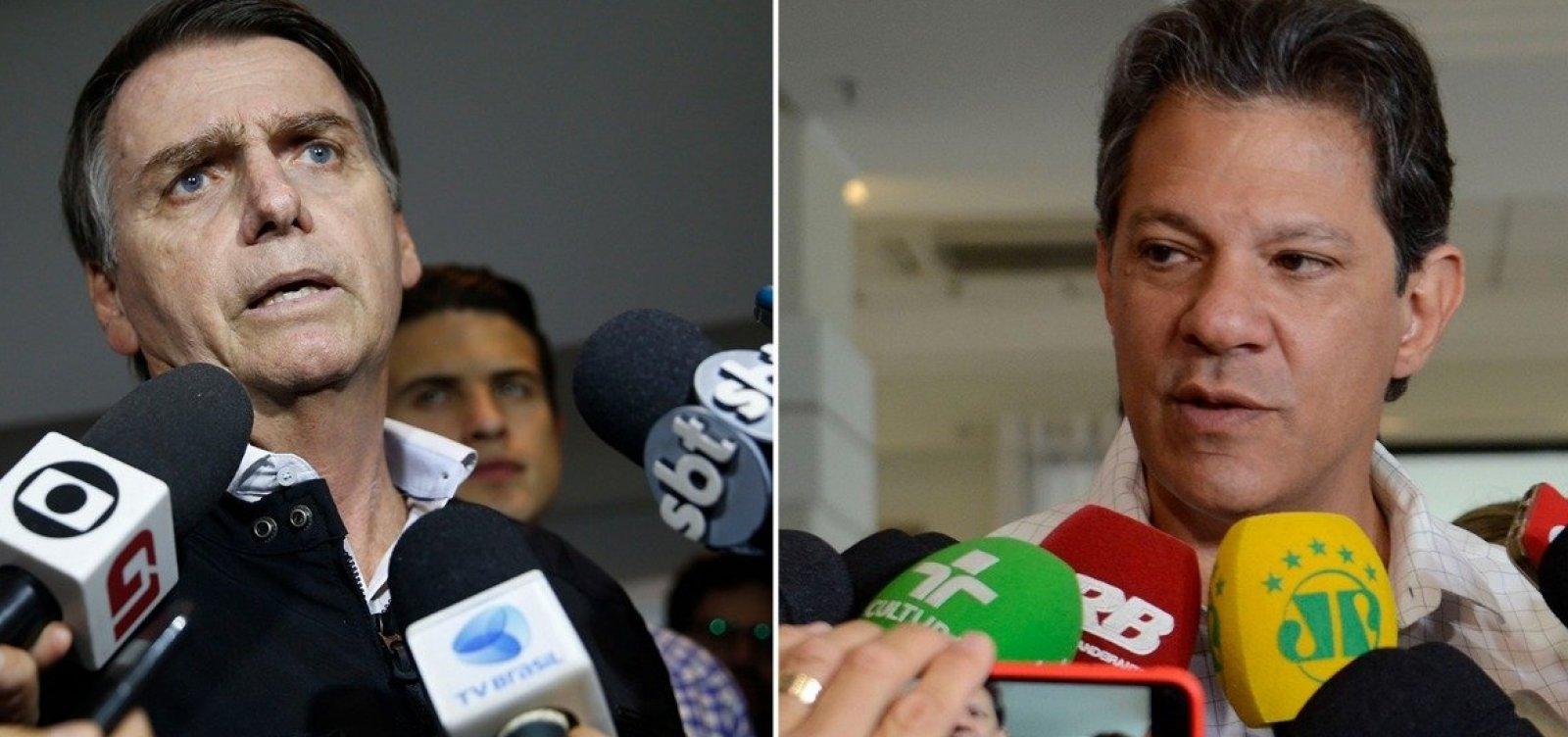 [Programa do PT diz que opção por Bolsonaro é 'voto de cabresto']