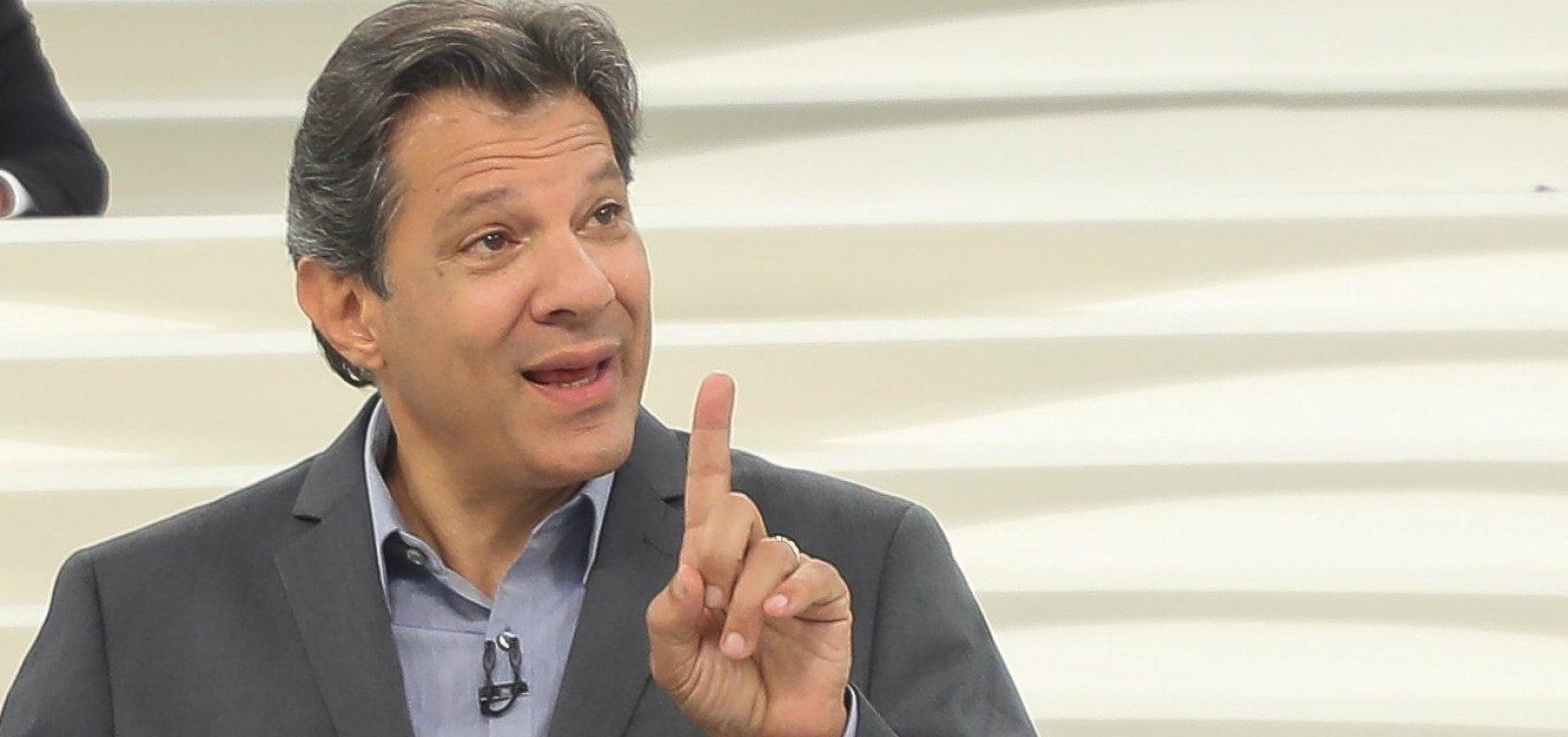 [Haddad admite erro estratégico do PT e chama Bolsonaro de 'rebotalho da ditadura']