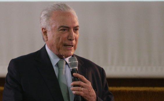 [Temer busca aproximação com Bolsonaro]