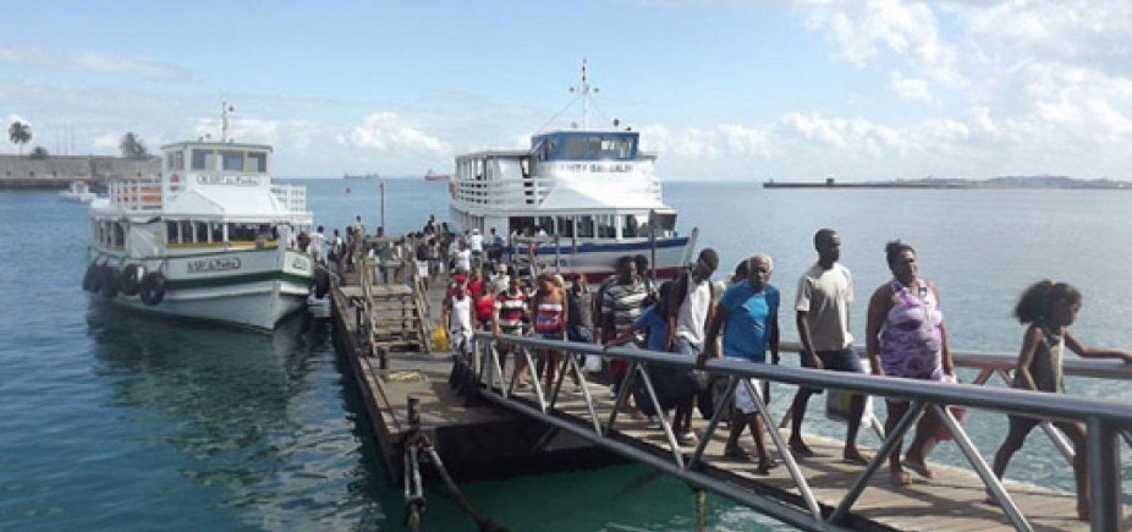 [Travessia Salvador-Mar Grande é retomada após três dias de suspensão]