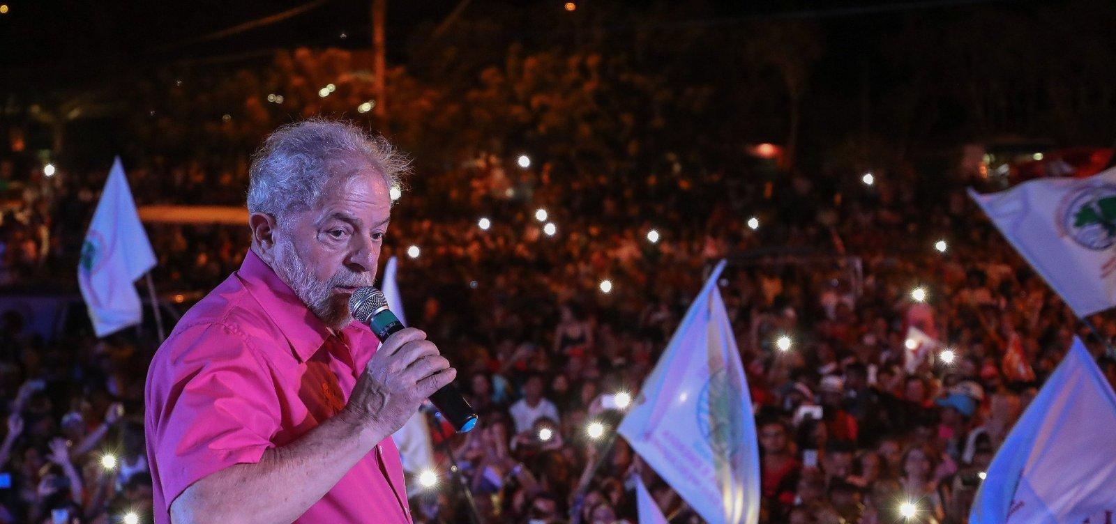 ['Não podemos deixar o desespero levar o Brasil para uma aventura fascista', diz Lula, em carta]