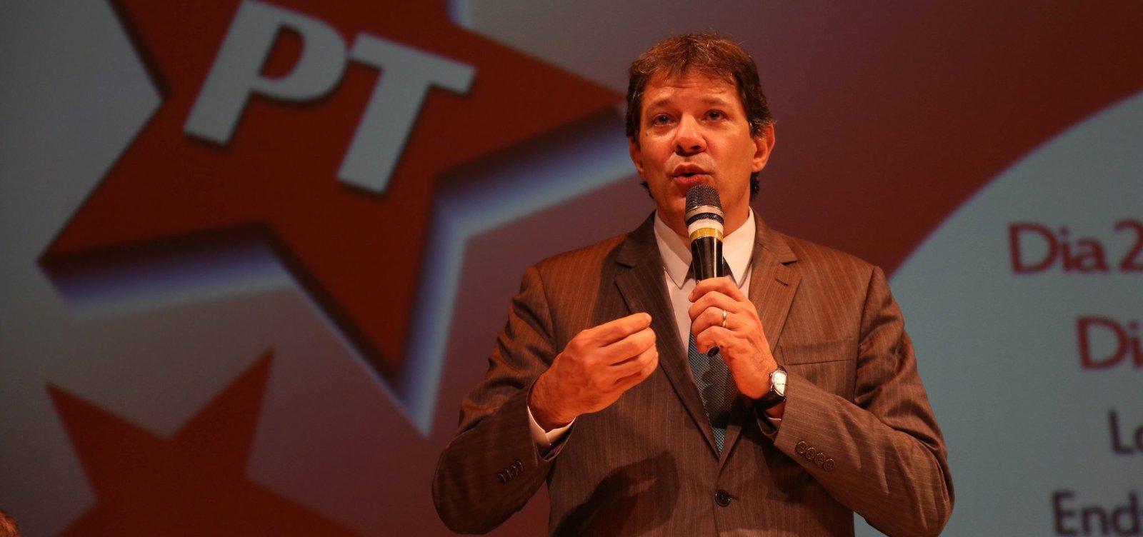 [Campanha de Haddad tenta forçar participação de Bolsonaro em debate na Globo]