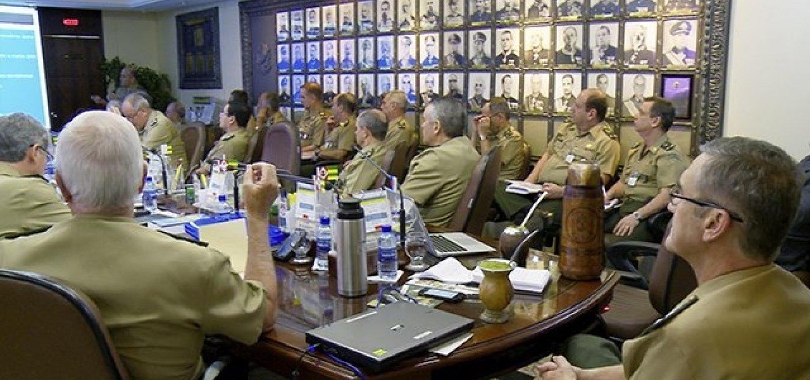 [Militares pedem mais moderação a candidatos na reta final do 2º turno]