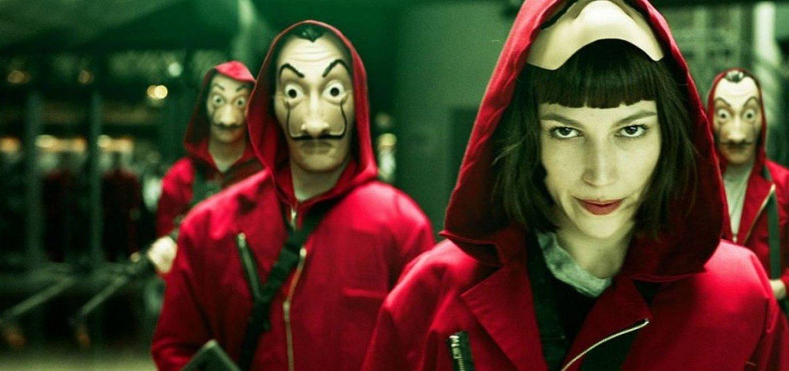[Assista: Netflix anuncia volta de 'La Casa de Papel']