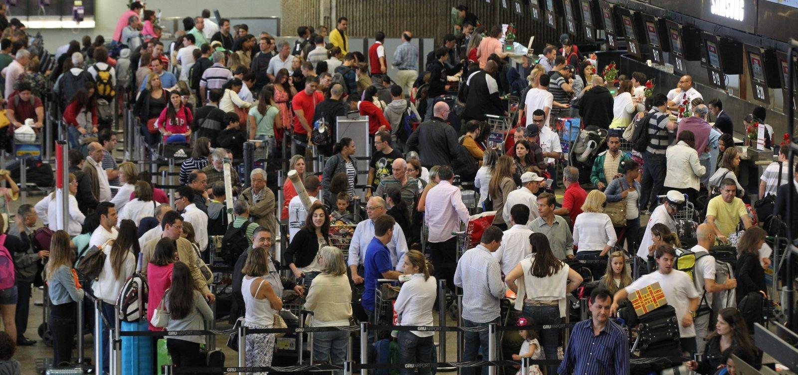 [Gastos com viagens ao exterior caem 30,7% em setembro]