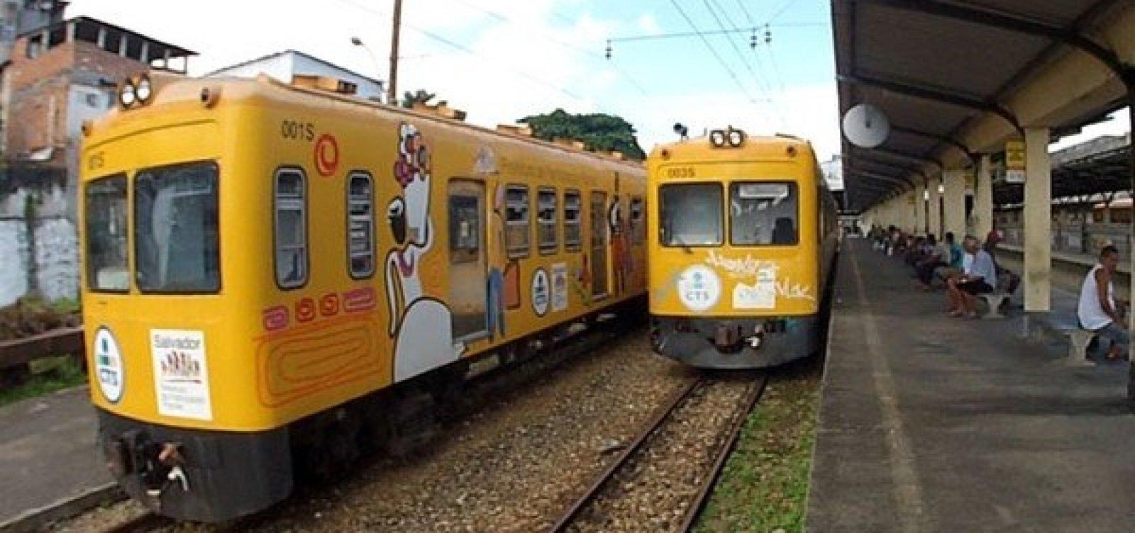 [Trens funcionam com horário especial no domingo de eleições]