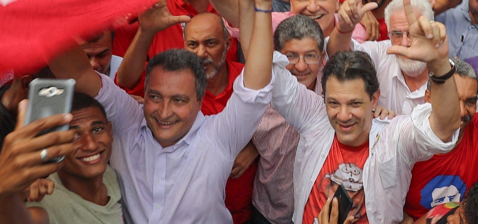 [Haddad participa de caminhada hoje em Salvador ]