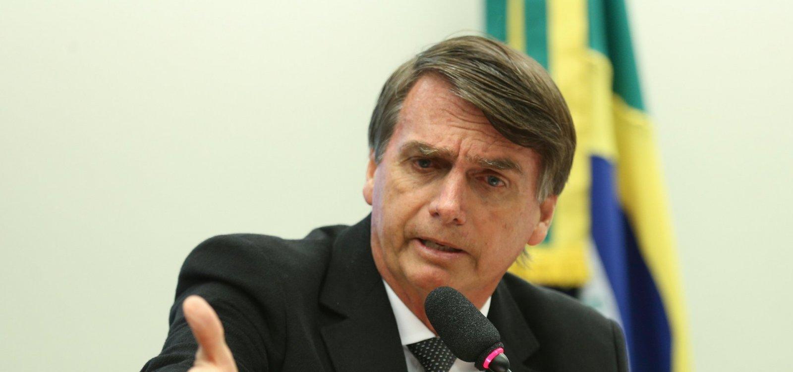 ['Queremos por um ponto final nas escolinhas do MST', diz Bolsonaro]