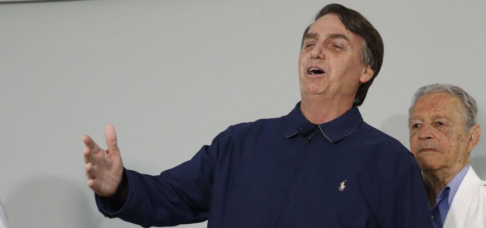 [Bolsonaro diz que vai dar 'ippon' na corrupção, na violência e na ideologia]
