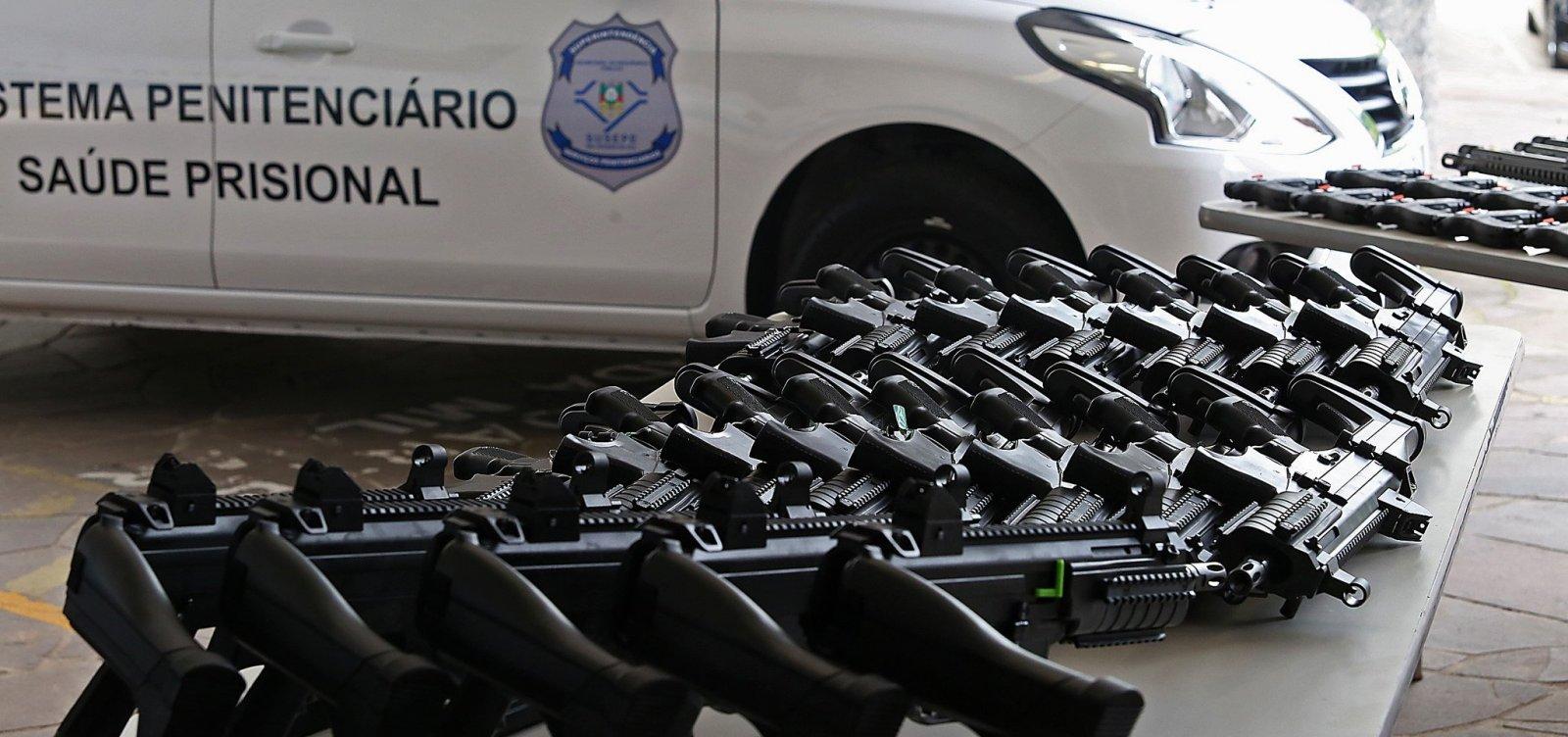 [Novos fabricantes de armas se preparam para entrar no mercado brasileiro]