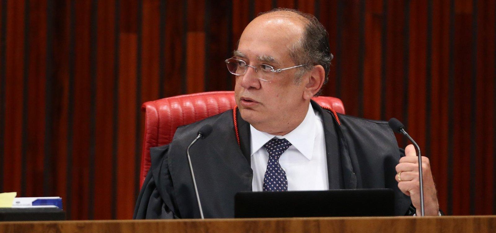 [Gilmar Mendes pede 'cautela' em ações da justiça em universidades]