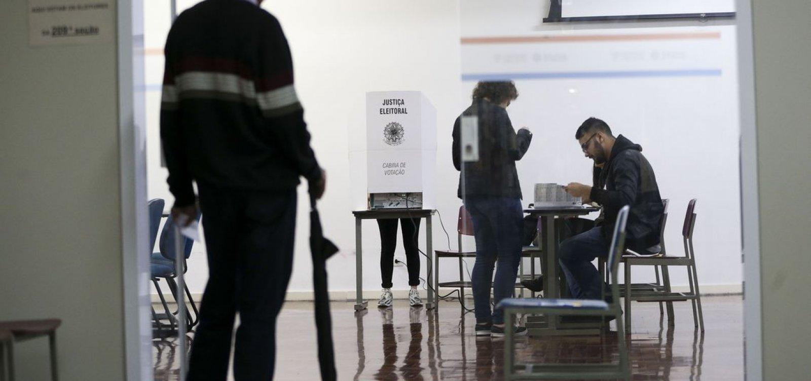 [Eleitor que não votou no primeiro turno pode votar no segundo]