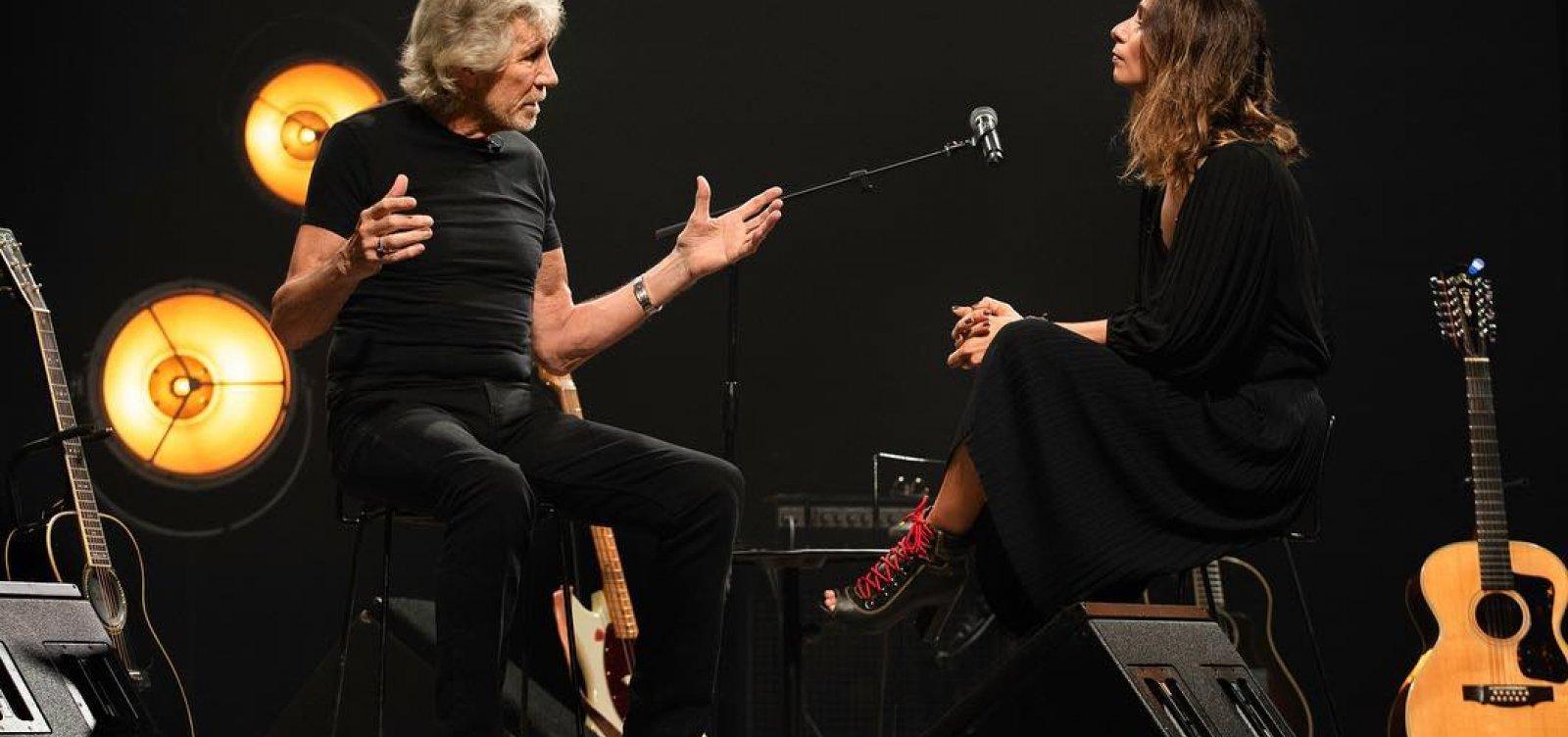 [Roger Waters é alertado pela Justiça Eleitoral sobre manifestações políticas]