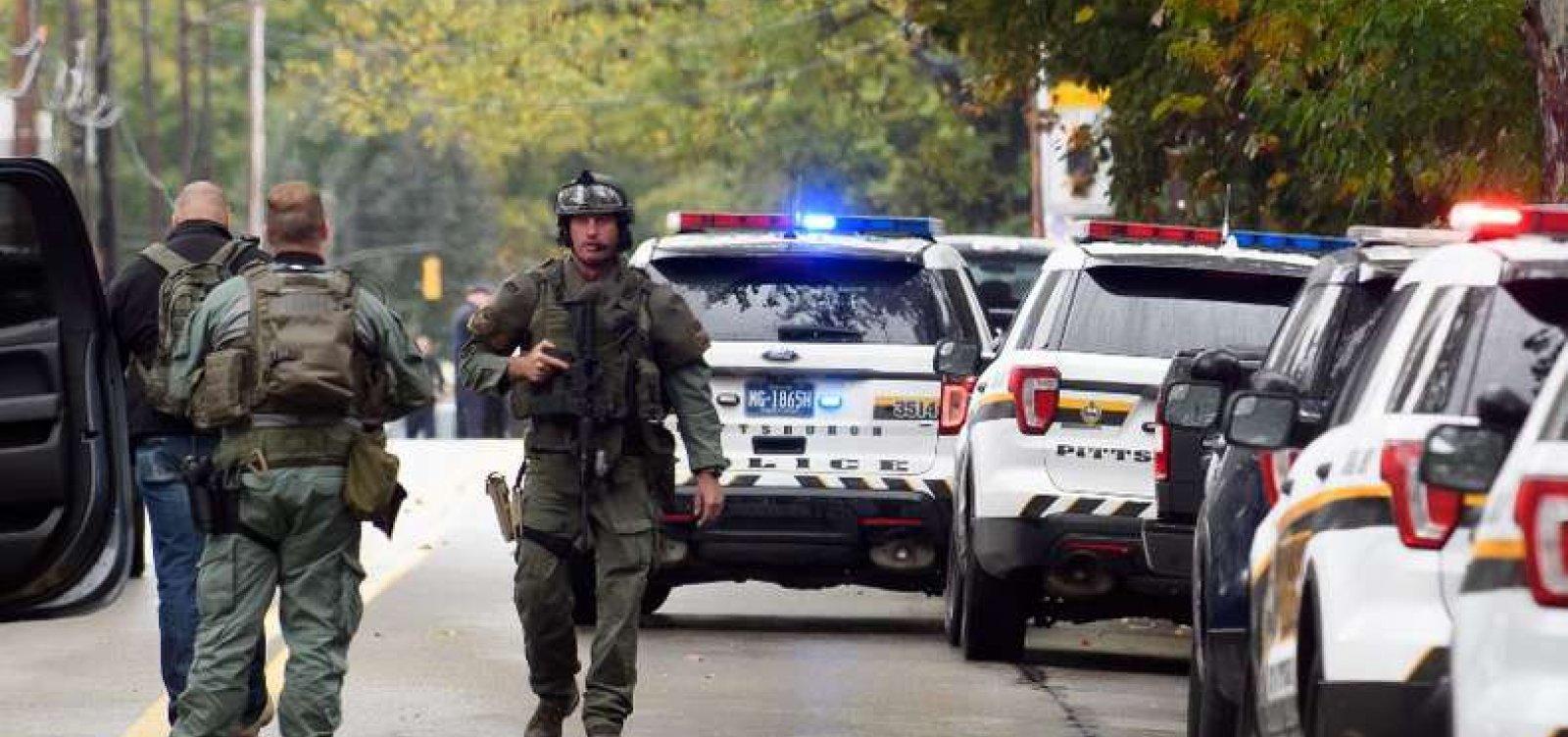 [Número de mortos em ataque a sinagoga nos Estados Unidos chega a 11]