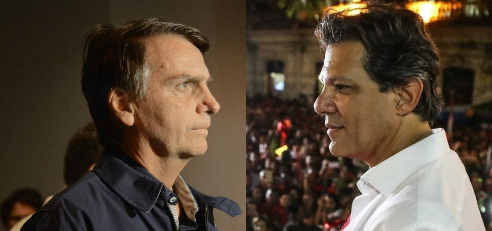 [Datafolha para presidente: Bolsonaro, 55%; Haddad, 45%]