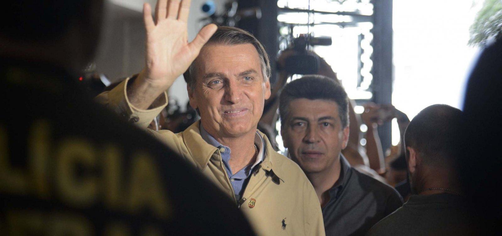 [Com segurança reforçada, Bolsonaro vota no Rio de Janeiro]