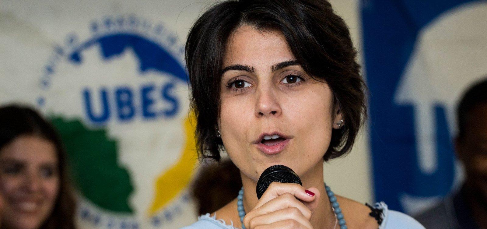 [Após votar, Manuela D'Ávila diz ter convicção na 'maior virada da história']